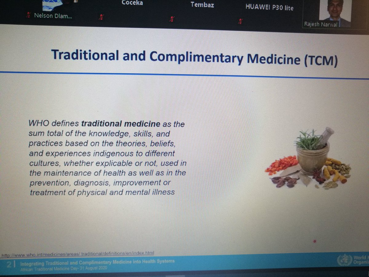 Dr Narwal continues... #AfricanTraditionalMedicinesDay