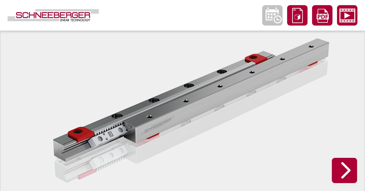 Cage creep can become a problem in linear bearings when strokes need to be repeated frequently during the handling process. The SCHNEEBERGER FORMULA-S is the solution for this.   Read more: https://t.co/gIDsHhCXDU #lineartechnik #schneeberger #FormulaS https://t.co/69DZv3HgfS