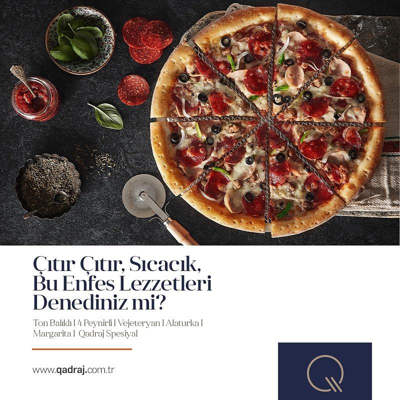 Haftaya enfes bir başlangıç için birbirinden lezzetli Pizzalarımızı denemeye ne dersiniz? #qadrajbistro #bistro #pizza #alaturkapizza #tonbalıklıpizza #4peynirlipizza #vejeteryanpizza #margaritapizza #qadrajspesiyal #göztepe #anadoluhisarı https://t.co/qKqhGNOsuE