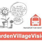 Image for the Tweet beginning: Our #GardenVillageVisions report showed that