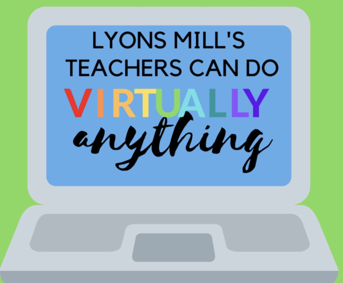 Good Morning @LyonsMill Teachers! Welcome to the 20-21 School Year!