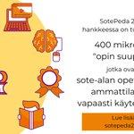 Image for the Tweet beginning: #sotepeda247 -hankkeessa mikro tarkoittaa yhden