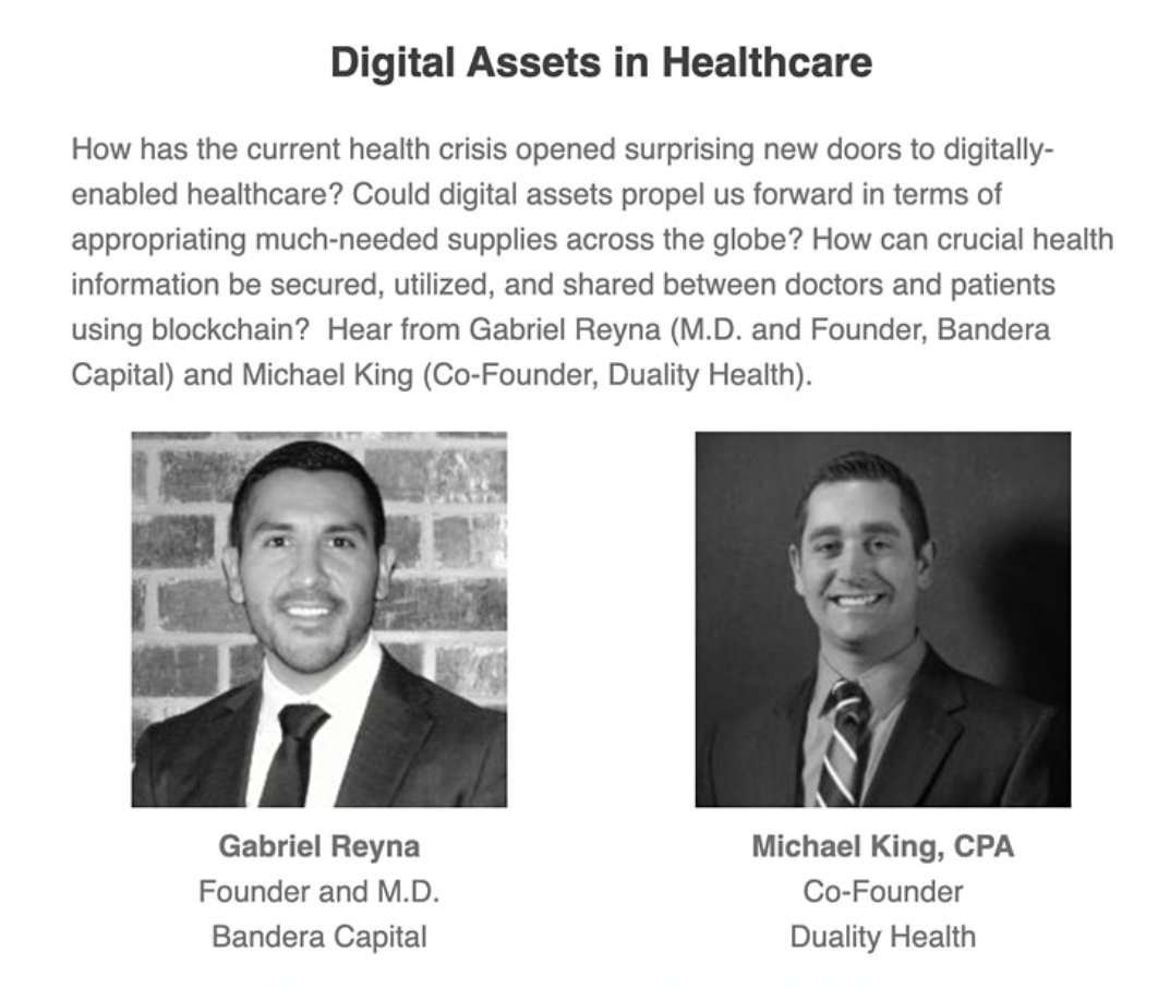 Join Duality Health at the Global Investor Conference September 15th $DYN #blockchain #cryptocurrency #healthcare