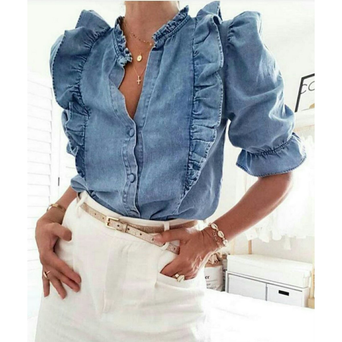 Now taking orders for this denim shirt available in sizes 36-42  Price: N8,490  #spotng #shopping #fashion #style #fashionable  #fashiondaily #fashionable #fashionpost #stylish #onlineshopping #weloveshopping #fashionshop https://t.co/Q4fJrffa71