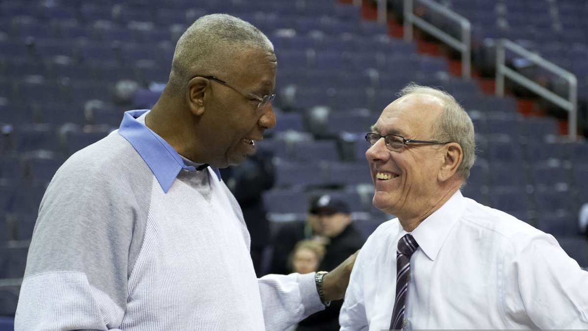(1/3) We lost a great basketball coach and a great person with the passing of my friend John Thompson. He was a leader in the game and in life. John empowered all coaches but especially Black coaches and Black players.