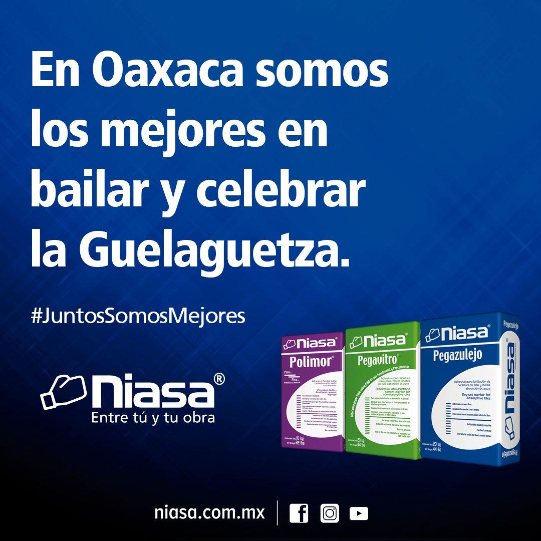 En #Oaxaca somos los mejores en bailar y celebrar la #Guelaguetza. #JuntosSomosMejores #Niasa https://t.co/SmmIl6B1uz