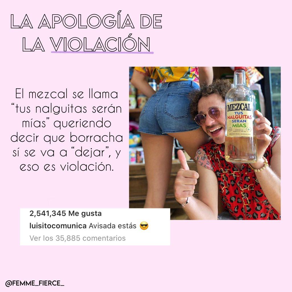 LA APOLOGÍA DE LA VIOLACIÓN DE LUISITO COMUNICA https://t.co/Ei02cEq9CG