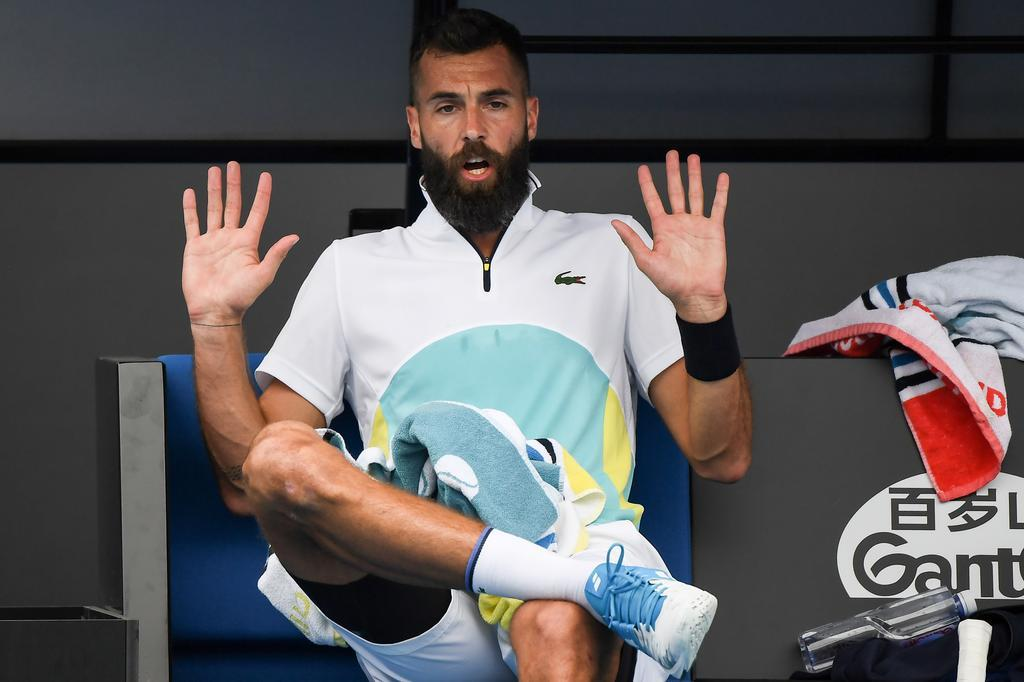BREAKING NEWS:  Beniot Paire tests positive for Covid-19 at US OPEN inside tennis bubble (updated)