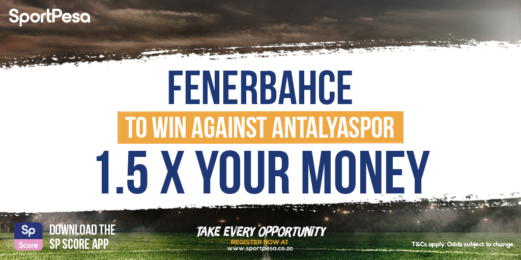 Fenerbahce play Antalyaspor in an #InternationalFriendly today! ⚽️ Get 1.5 x your money with a play on Fenerbahce to win on home-ground in Istanbul! ➡️ https://t.co/02W0kHmgpq https://t.co/SazYGgN9RV