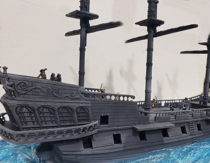 Mega #Free Giveaway, I am slowly getting closer to 10k followers on Twitter once I hit 10k I will give away the complete pirate ship from #reapermini free postage Worldwide like/follow/retweet to win, Boat will be released in April/May 2021😍🧙‍♂️ #DnD #Critters #CriticalRole https://t.co/7Leuozhwhq