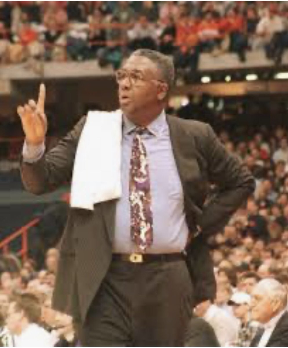 Rest in Power Coach John Thompson! It's because of you that I do what I do and I dream the way I dream. Thank you.