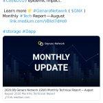 Image for the Tweet beginning: 🆕 New Genaro Network $GNX