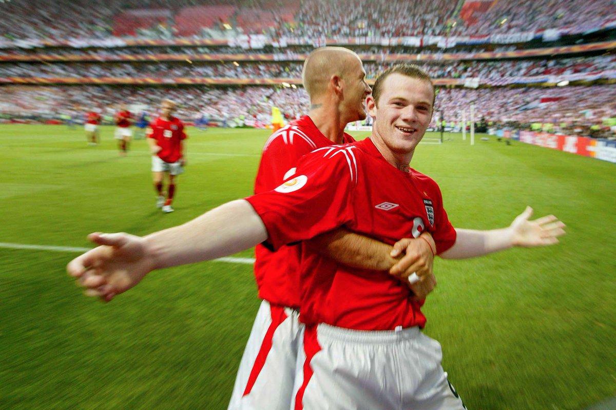 Big H On Twitter Wayne Rooney Euro 2004 Biggest Talent In World Football Https T Co Qlkvbkd4yf