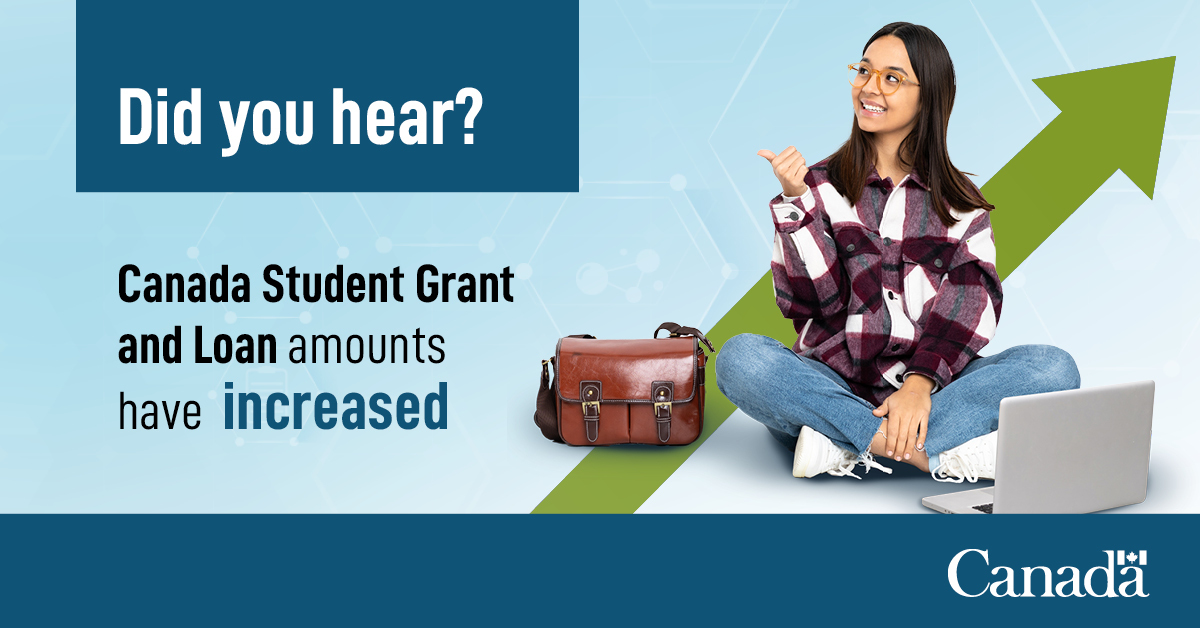 Employment And Social Development Canada On Twitter 1 5 Hi Your Eligibility For Canada Student Grants And Loans Is Automatically Assessed When You Apply For Osap There Are Several Canada Student Grants Available