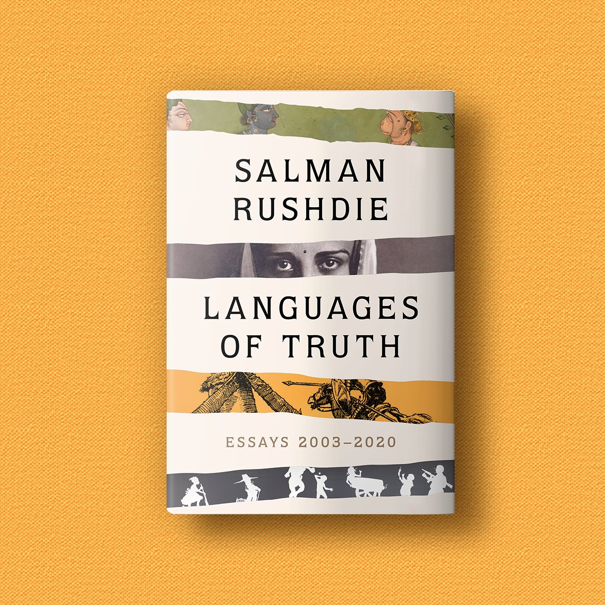 This is the cover for my book of essays Languages of Truth which Random House will publish on May 25th 2021, a collection including many texts never previously in print. Preorder here: https://t.co/42iMrPsO66 https://t.co/MAnOXMYwms
