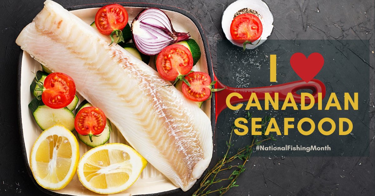 That's a wrap on #NationalFishingMonth, but look out for more exciting things to come from the Canadian fish and seafood industry - like our digital conference webinar series and #NationalSeafoodMonth, both in October! 🐟 https://t.co/CvBPqih2Ek