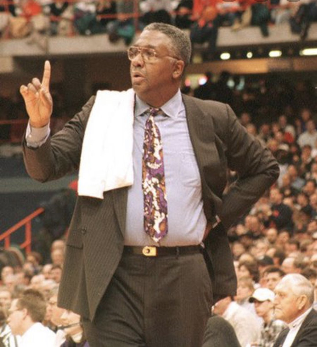 He gave young black men from across the country a chance to earn a world class education w/ a Gtown degree and a masters in life skills. He built Gtown into a basketball power and carried the Big East w/ him while fighting against racism and educational inequality. LEGACY!