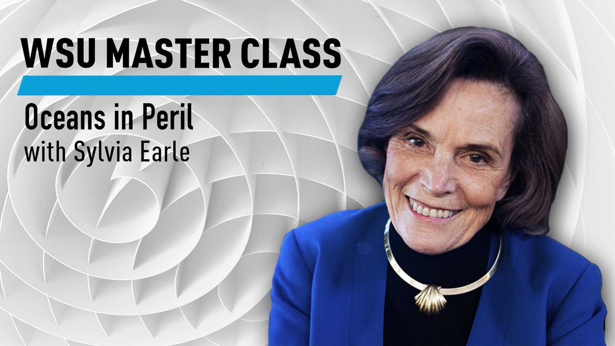 Join marine biologist and @MissionBlue founder @SylviaEarle for OCEANS IN PERIL, @worldscienceu's new Master Class. In it she explores the challenges facing our oceans today, why we should care, and how we can still make a difference. https://t.co/ubVBorJ2AV #WorldSciU https://t.co/lQr51wNeVW