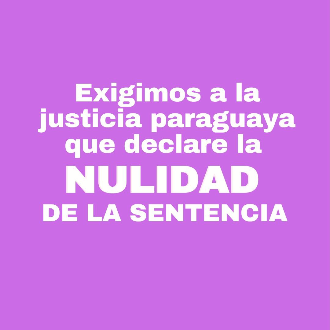 Ni una sola vez!! La declaración de nulidad de la sentencia en el caso de Alexa es una oportunidad para el Poder Judicial de demostrar que tienen intenciones de trabajar en pos a un país sin violencia para las mujeres.  #AlexaNoEstáSola  #BastaDeAcoso #JusticiaParaAlexa https://t.co/o3FJKGWg9n