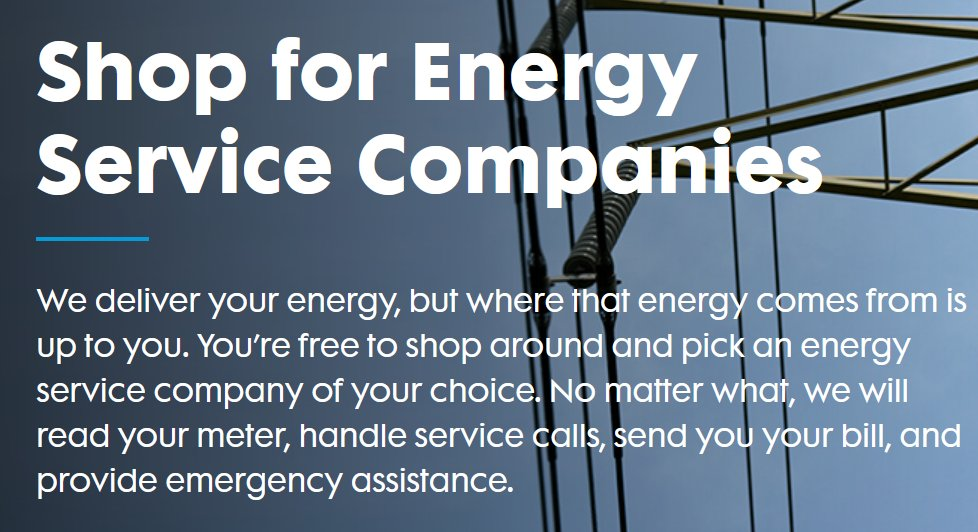 """Con Ed calls this Program """"Power Your Way"""" it started in 1996 for gas and 1998 for electric customers in New York after energy markets were deregulated. This was supposed to be a counter to the monopoly utility status that the IOUs had, and be a win for ratepayers 2/"""