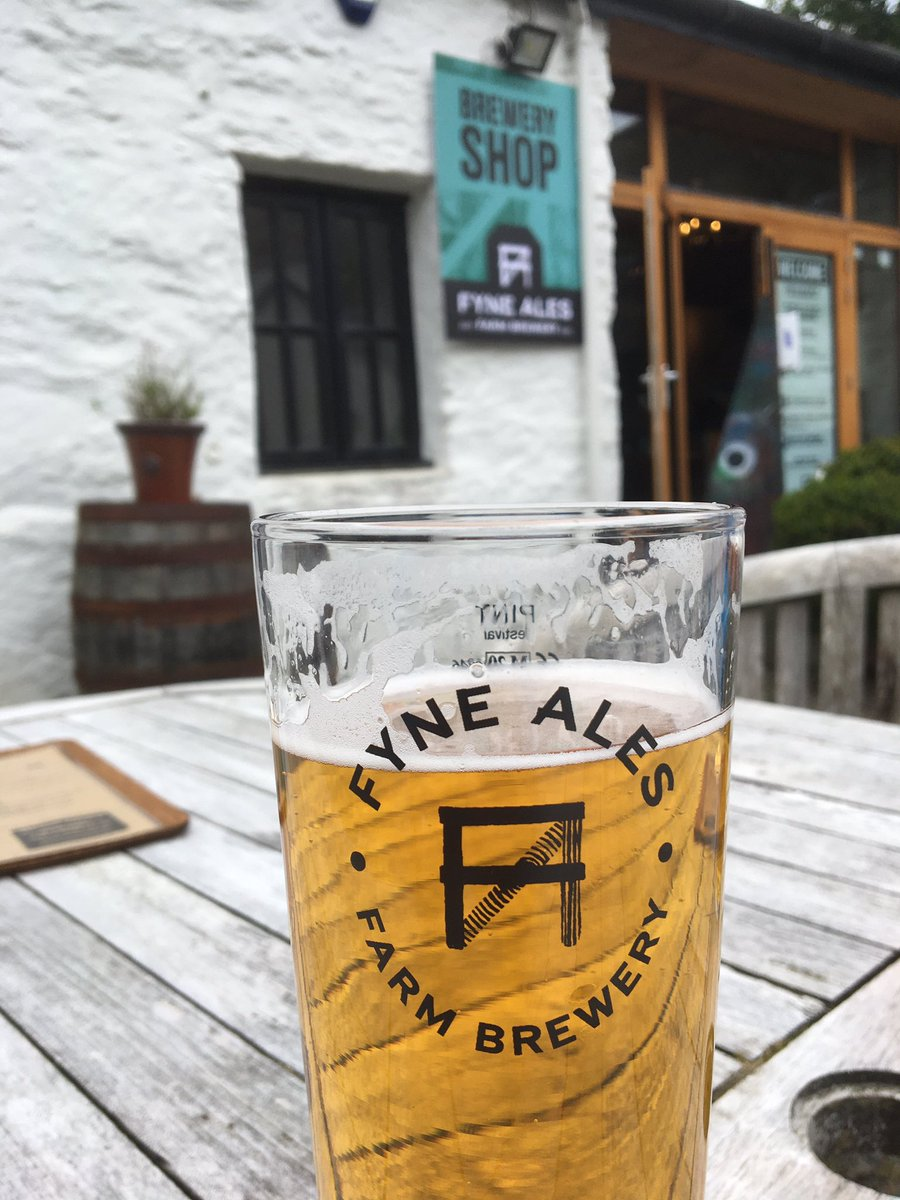 Today is about good food and drink @FyneAles @LochFyneOysters