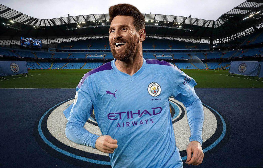 """Kevin Verdezoto on Twitter: """"▶️El Manchester City estaría dispuesto a pagar $596 millones a Messi por un contrato de 5 años. La pulga jugaría 3 años en el City y los dos"""