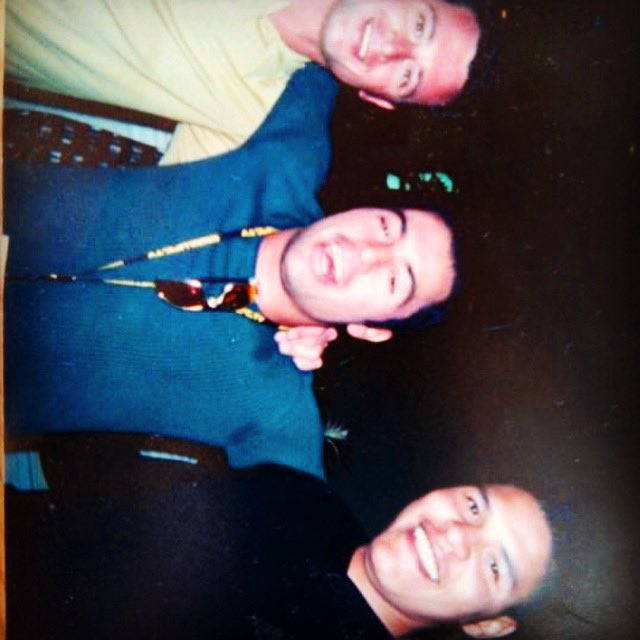 Before he was the $100M man, Joe Rogan. Before he was a BJJ World Champion, AJ Scales and me.