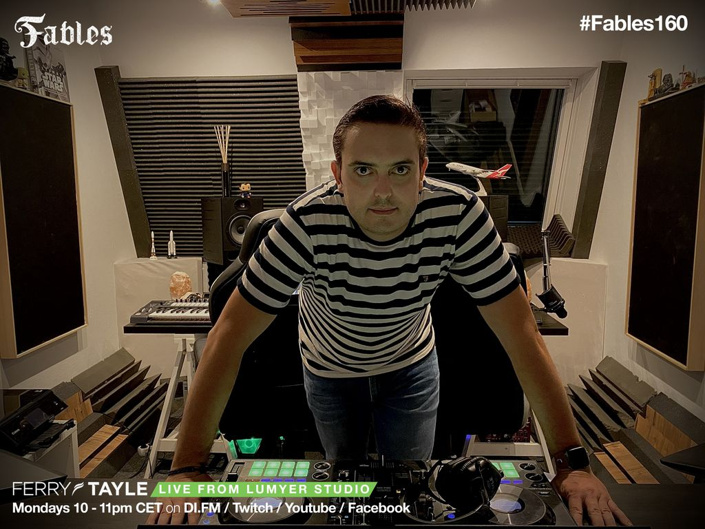 Today it's #Fables160 and i'm going Live from the Studio !  Join on Twitch, YouTube or Facebook. Starts at 10PM CET https://t.co/m6EAocNdey