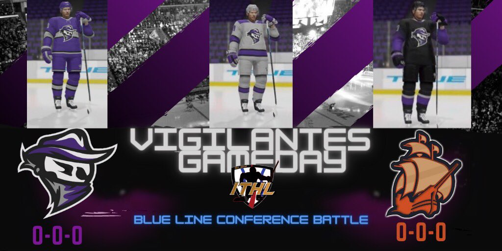 ‼️ITS GAME DAY‼️  The new look Vigilantes take on the familiar @boats_eashl in Season 4 action!  Checkout our new threads that we will be rocking for this upcoming season!  #FearTheMask https://t.co/SiCMkwnpGP