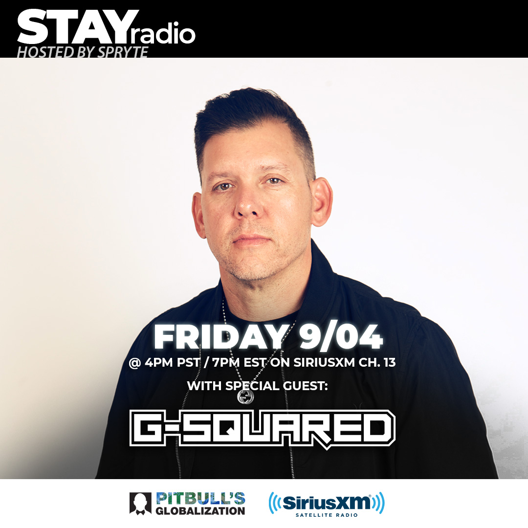 This Friday we have Vegas powerhouse @TheDjGSquared in the mix!! Tune into Globalization Channel 13 (SiriusXM) at 4pm PST / 7pm EST. https://t.co/RsVywBO9Kg