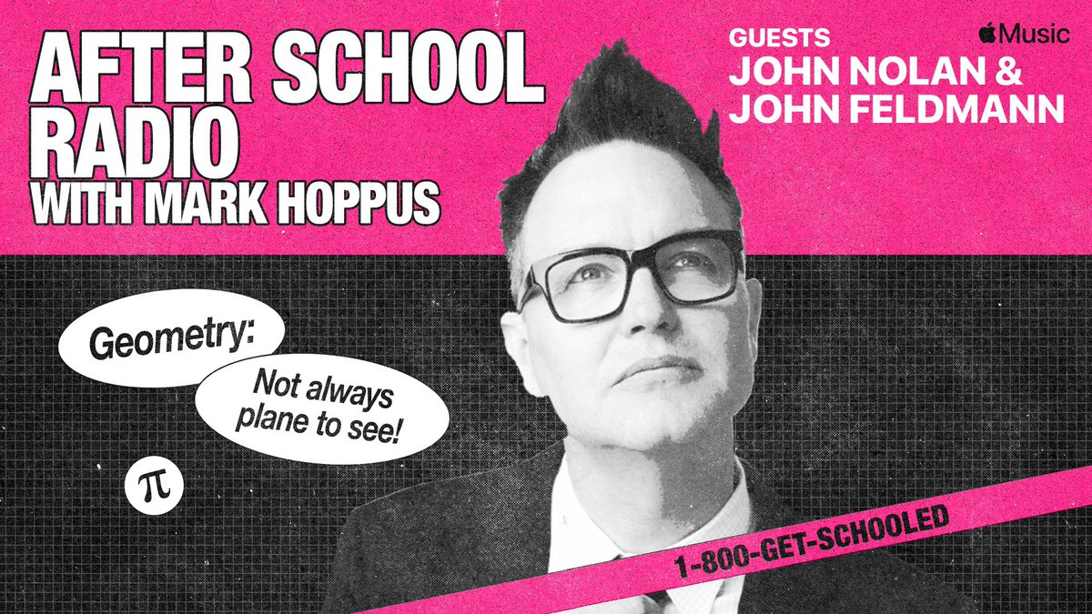 Mark Hoppus On Twitter Tuesday 11am Pacific Free To Listen To Live Or Anytime On Demand With Apple Music *is slightly speechless* *takes his hands* *tears up a little my name is mark hoppus. twitter