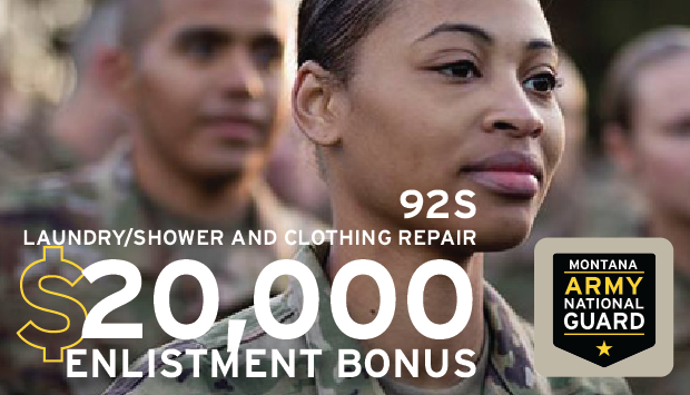 Be part of something bigger in the Montana Army National Guard as a Laundry/Shower and Clothing Repair Specialist.  Assist members of your unit by ensuring they have the tools necessary to stay hygienic.  For more information visit:  #MTARNG #military
