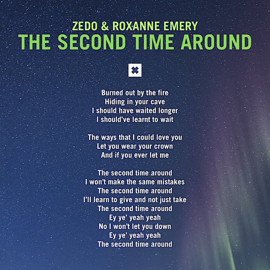 """Sing along with Roxanne Emery! 🎤 #VocalTranceLyrics ✨ @SteveAllenMusic's uplifting remix of """"The Second Time Around"""", her collab with Zedo is out now ➡️ https://t.co/KlI1dKJaKO @RazNitzan https://t.co/fbkYMX1xND"""