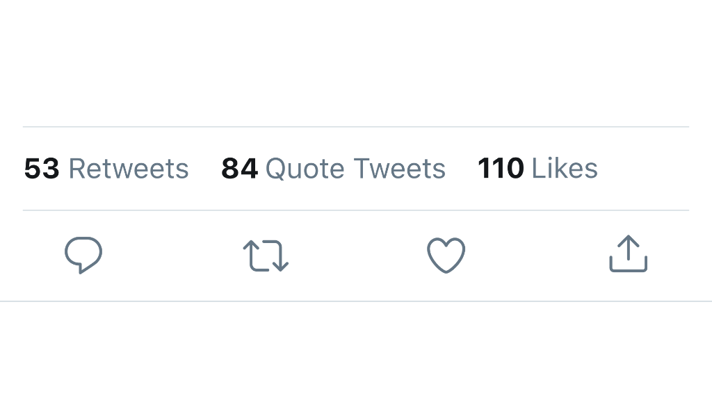 "Three things—  1. ""Retweets with comments"" is changing to ""Quote Tweets""  2. Quote Tweets will appear right next to Retweets  3. The mask goes over your nose https://t.co/x00YTZSAFs"