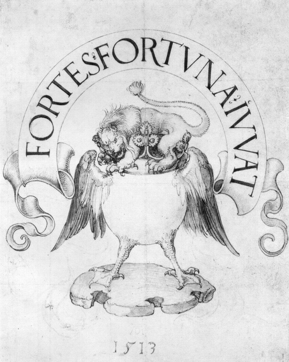 Draft for a book sign lion, 1513 #albrechtdurer #dürer https://t.co/9ag7osrLhi