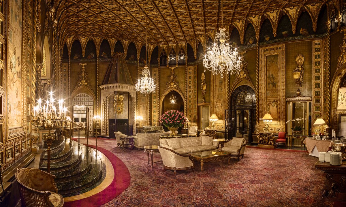 Breathtaking is an understatement. With historical design and exceptional eye for detail, it's no wonder @MarALago is among the world's most celebrated private clubs. https://t.co/sIXOXAyRaL