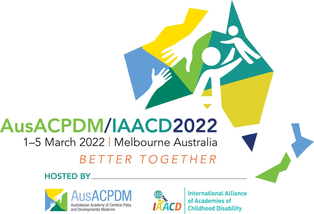 Don't miss out! Abstract submissions for Focused Symposia and Debate/Current Controversies close 31st October, 2020. Presenters can plan to attend in-person or virtually for this hybrid conference. @IAACDtweets @AusACPDM #BetterTogether2022 #ChildoodDisability  #CerebralPalsy https://t.co/EtttWSG7Bs
