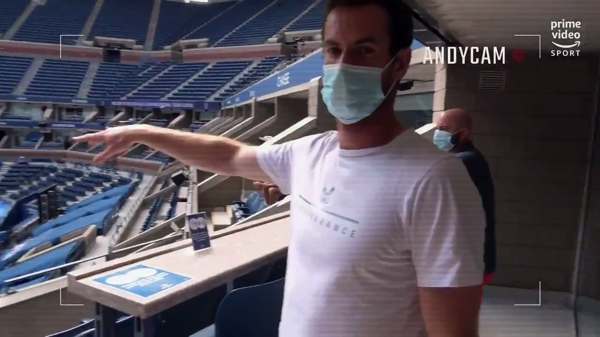 Living the suite life at the #USOpen  @andy_murray shows us where seeded players and past champions spend their downtime