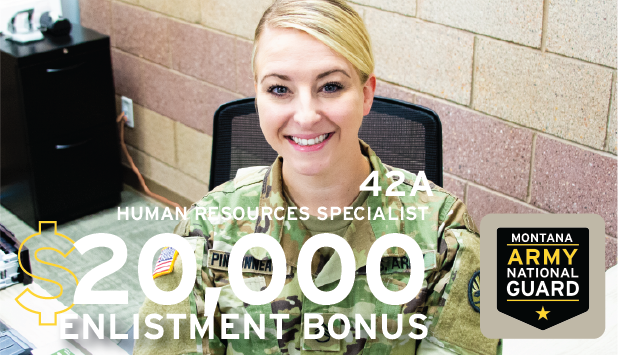Broaden your horizons and gain experience that will help skyrocket your career as a Human Resource Specialist!  The military needs these highly organized and driven individuals to help us run smoothly!  For more information visit:  #military #Montana
