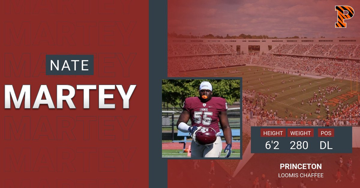 We are very proud to have @nate_martey15 committed to the admissions process at @PrincetonFTBL ! #BirdGang