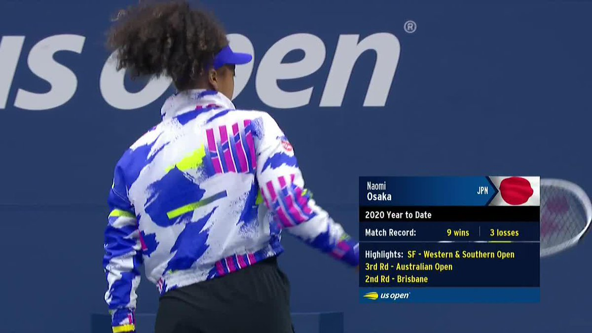 A statement was made when @naomiosaka walked onto Ashe with a Breonna Taylor mask last night. #USOpen https://t.co/Ubxwst54kl