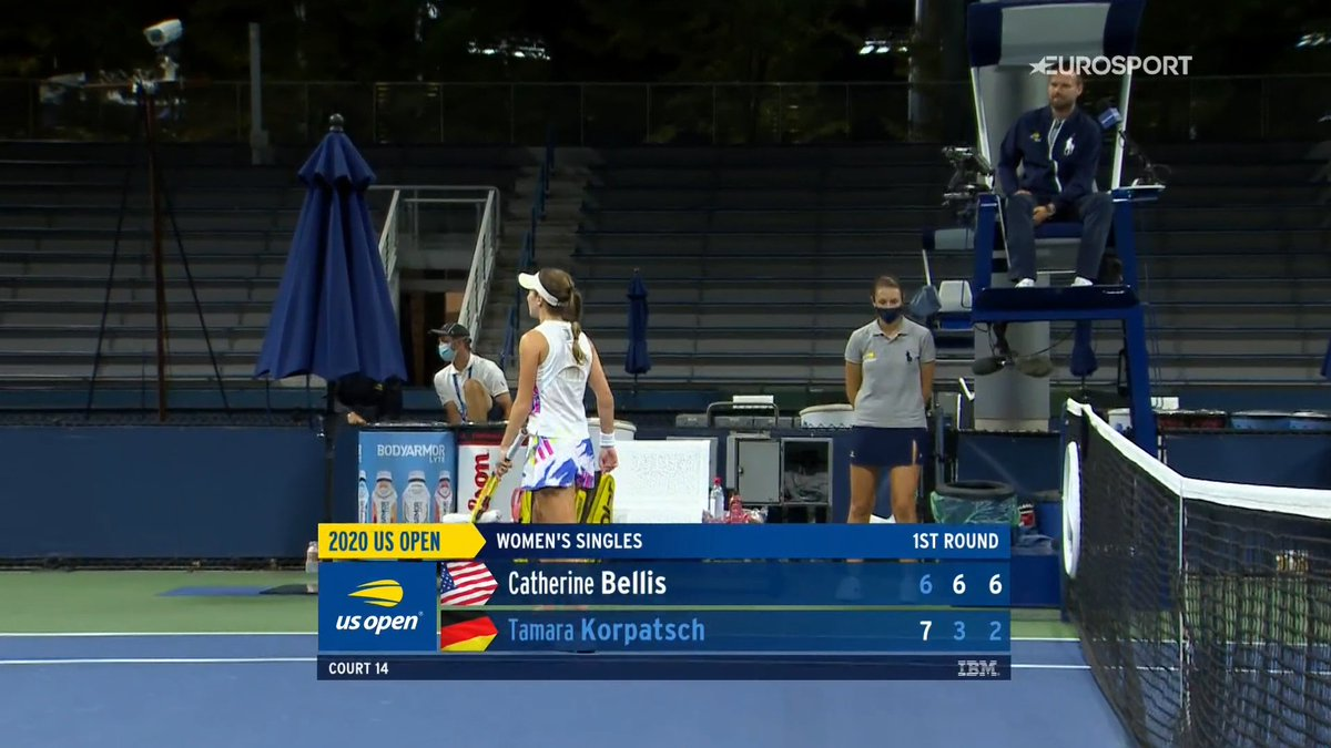 Yeey nicely done by Cici Bellis 😊#usopen https://t.co/kv9LHdhLNw