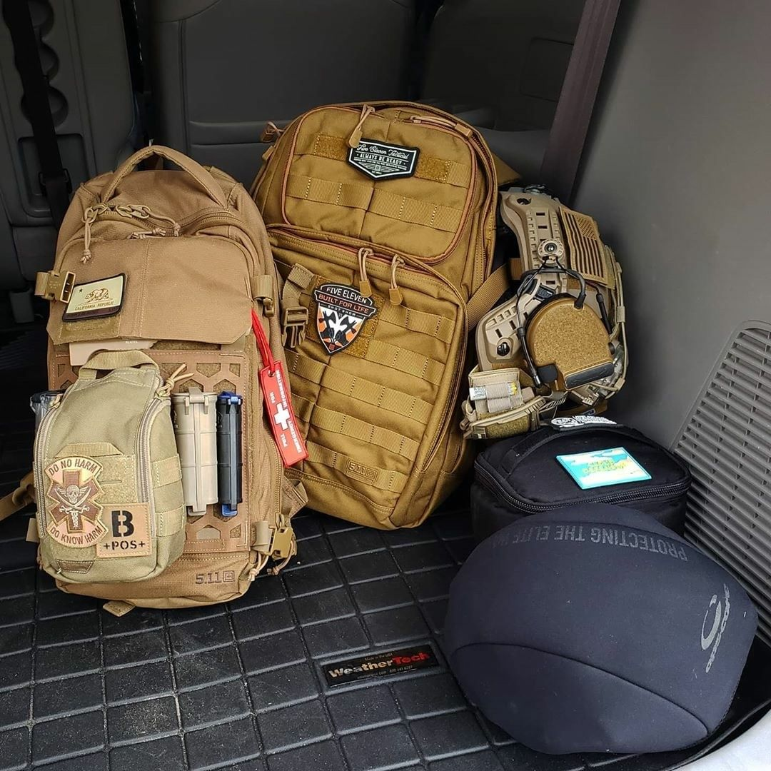 Packed & ready for the new week. #TacticalGear 📸: @511Tactical https://t.co/rY3ZzJM8za