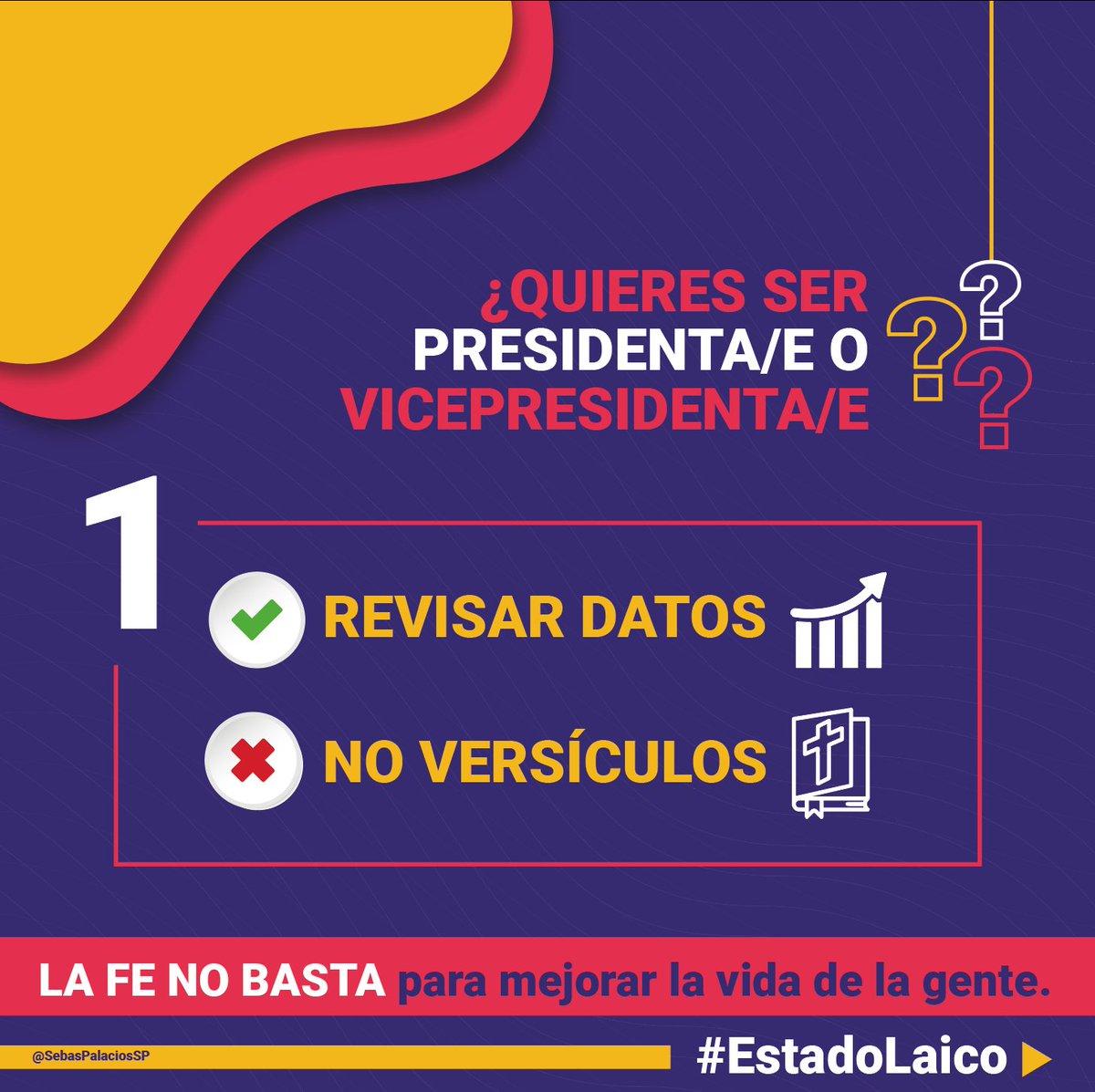 ¿Quieres ser presidenta/e o vicepresidenta/e?  Es muy importante leer esto👇  Tomado del muro del Asambleísta  @SebasPalaciosSP https://t.co/XsPW8s21kx