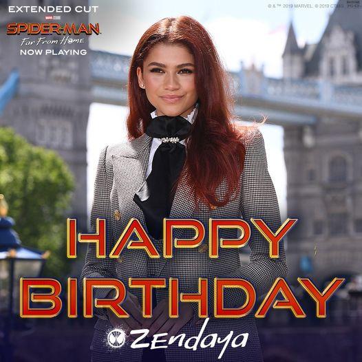 Happy Birthday to Zendaya!