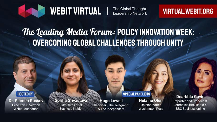 Rewind some of the best moments from #Webit Virtual Leading Media Forum Season 1, hosted by Dr. @PlamenRussev with all special guests: @spriha,Executive Editor @businessinsider;@hugolowell,  @Telegraph;@helaineolen,@washingtonpost;@dearbhlagavin,@BBCNews: https://t.co/VtH1BxdaIT https://t.co/mJhCWXe0W0