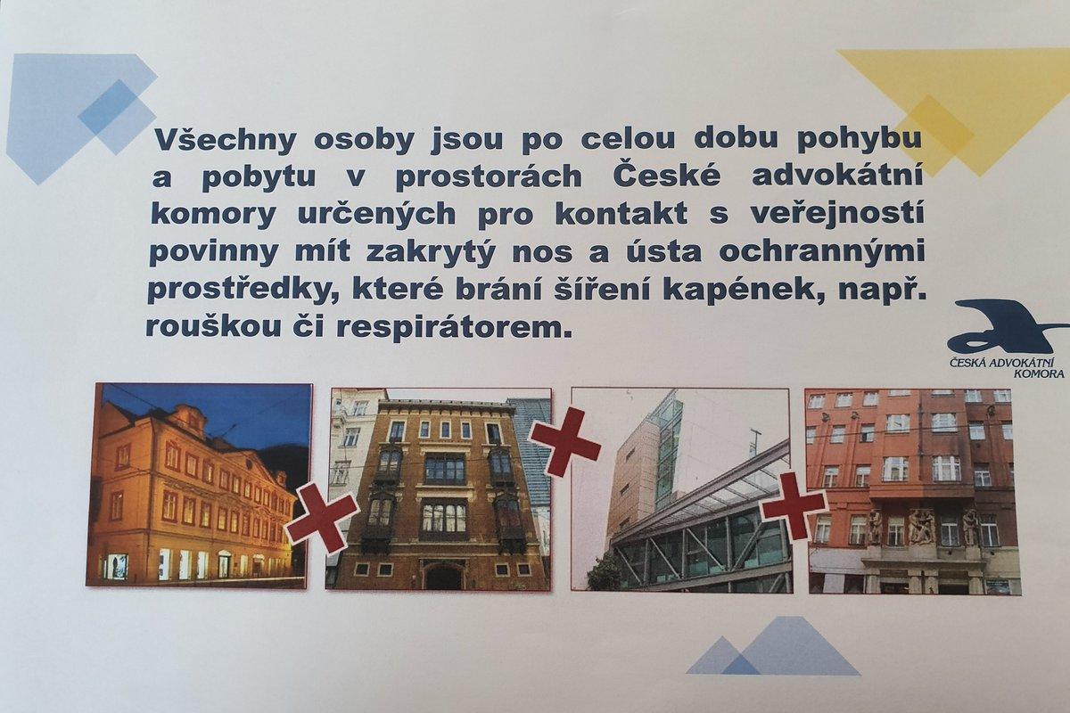test Twitter Media - Zpřísněná pravidla pro pohyb veřejnosti v důsledku #pandemie #COVID19 platí ode dneška také ve všech budovách @CAK_cz. Více čtěte na #AdvokátníDeník https://t.co/gpPpQBfE4a. https://t.co/jMbP9Qhyjj