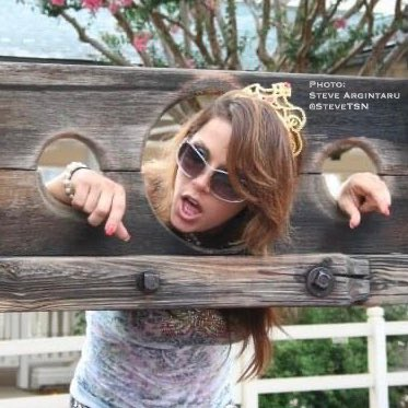 Happy birthday, Mickie James!  At some point, I ll have to explain this photo