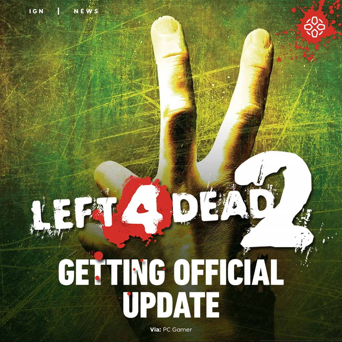 "Left 4 Dead 2 is getting a new update called The Last Stand, which Valve calls a ""collaborative effort by the community, for the community."""