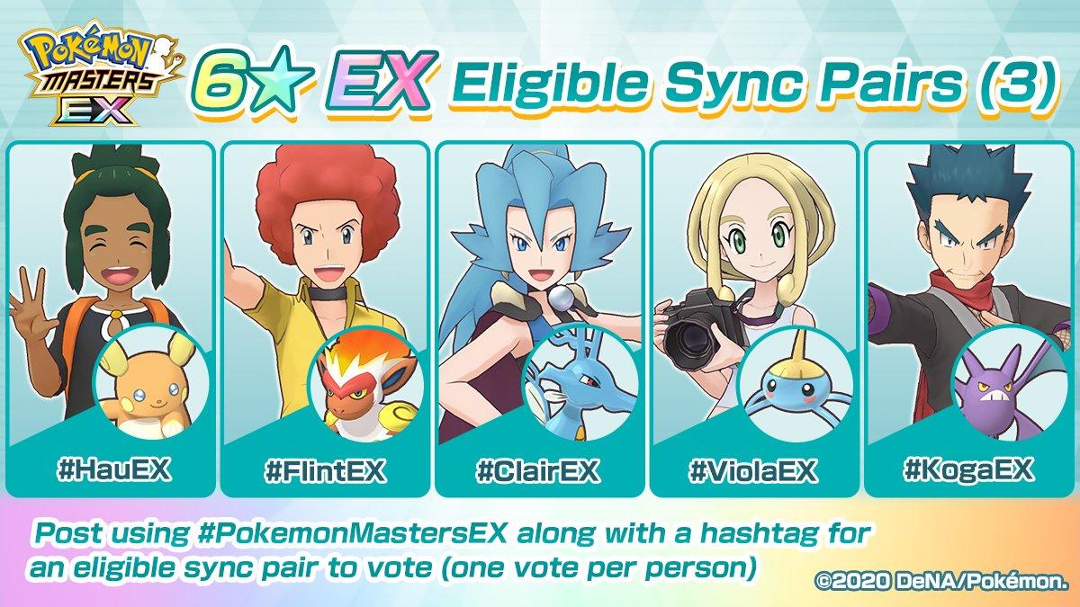 Pokémon Masters EX Twitter